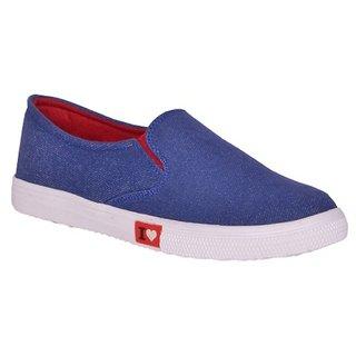 Sukun Blue Women Casual Shoe