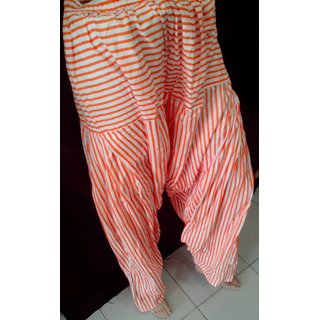 Patiala Salwars with Stripes