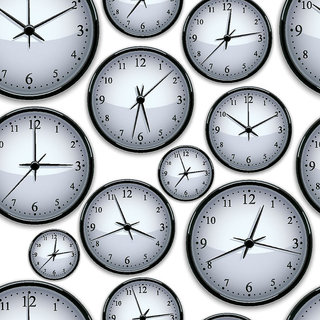 Wall Decor - Wall Clocks Printed Canvas