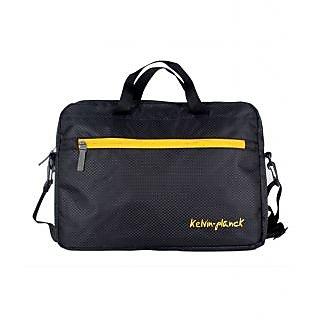 Kelvin Planck Black Polyester Laptop Sleeve HP Pavilion 15-R204TX