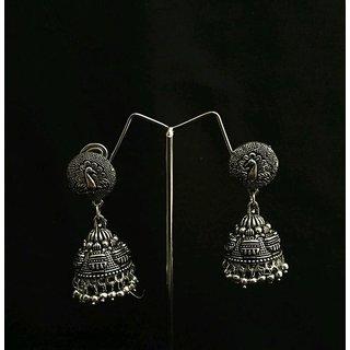 eb70885948a Silver Plated handmade Jhumka Jhumki Earrings For Women
