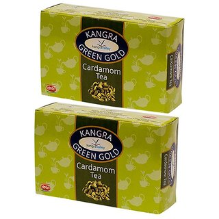 Cardamom Green Gold Green Tea - Pack of 2