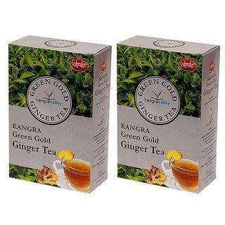 Ginger Green Gold Green Tea - Pack of 2
