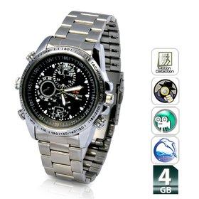 Spy 4GB Steel Watch Camera