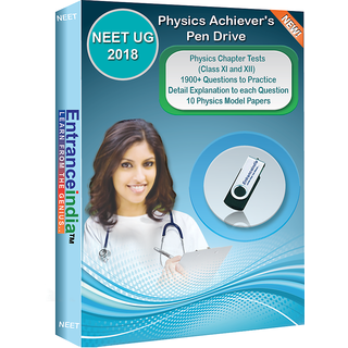 NEET UG 2018 Physics Achievers Pen Drive with 10 Physics Model Papers
