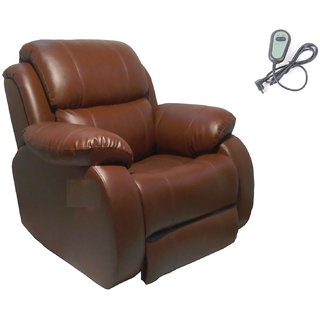 Innovate Motorized one seater Brown Recliners