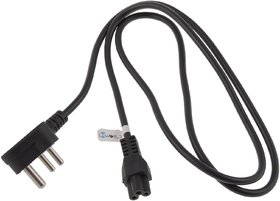 iConnect World High Quality Power Cable Cord 3 Pin Laptop adapter Charger 1.5m-Black