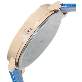 5Star Online Round Dial Blue Analog Watch For Women