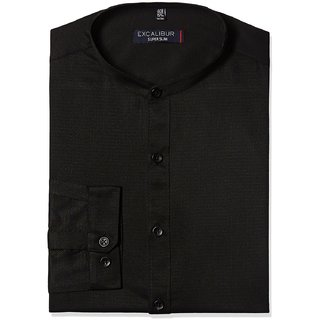 Men's Formal Shirt Black