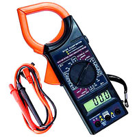 Digital Clamp Meter To Measure Voltage Amps Resistance