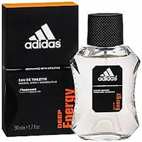 Adidas Deep Energy Edt Spray For Men 100 Ml Sport Fragrance