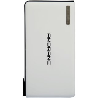 Ambrane Plush PP-1500 15000mAh Power Bank (White)