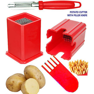 Potato Xpress Cutter with Peeler knife Combo Pack