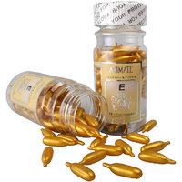 ANIMATE Aloe Vera & Vitamin E Facial Oil 60 Soft Cel Capsules (combo Pack Of 3)