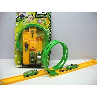 Ben 10 Alien Force Plastic Play Car Set