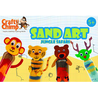 Crafty Chimp Sand Art – Jungle Safari