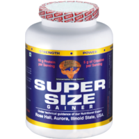 Super Size Gainer Ultimate Muscle Mass Fuel + FREE  ( SHAKER )