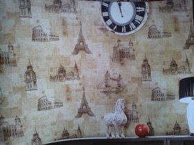 Modern wallpaper for home or office