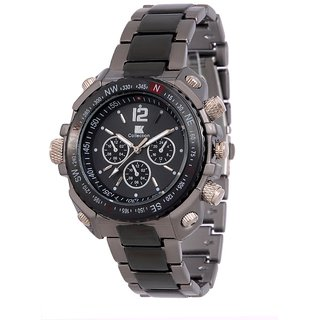 Rosra Black and silver Watch