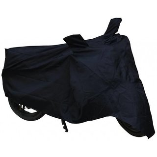 RWT Black Two Wheeler Cover  For Yamaha Fascino