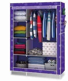 RB Folding wardrobe almirah A-4 light and Trendy