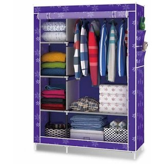 RB Folding wardrobe almirah A-4 light and Trendy