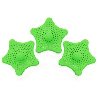 s4d Starfish Hair Catcher Bath Sink Strainer Catcher Drain Cover