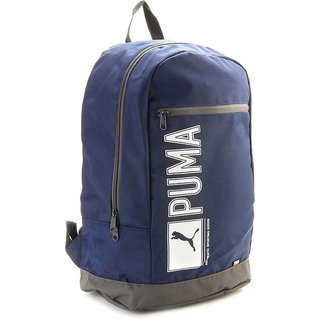 ad38fb6db3 Buy Puma Navy   Gray Polyester Casual Backpacks Online   ₹1199 from ...