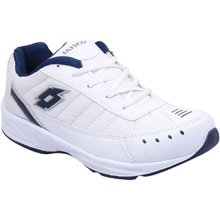 Smart Wood MenS White Running Shoes