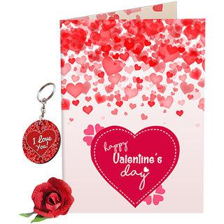 Buy sky trends valentine gift for hubby lovely greeting card sky trends valentine gift for hubby lovely greeting card keychain with artificial rose best gift for negle Gallery