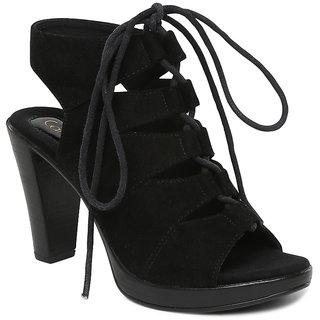 Buy Catwalk Women's Black Heels Online