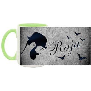 Raja_ Hot Ceramic Coffee Mug : By Kyra