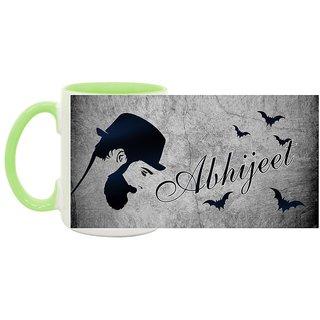 Abhijeet_ Hot Ceramic Coffee Mug : By Kyra