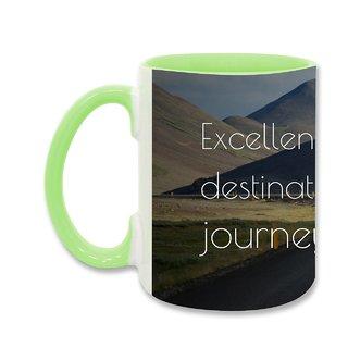 Ceramic Coffee Mug, Designer Printed Coffee Mugs : By Kyra