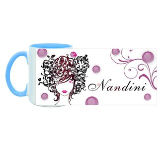 Nandini_ Hot Ceramic Coffee Mug : By Kyra