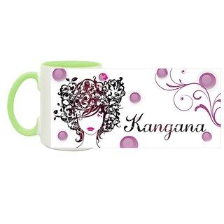 Kangana_ Hot Ceramic Coffee Mug : By Kyra
