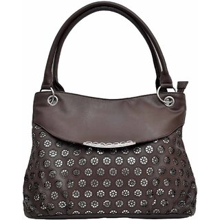 Hawai Chocolate Brown Shoulder Bag for Women - PU Leather(LBW00018)