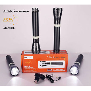 AKARI Rechargeable 2000 Meter Long Range Torch light Best Quality 1ps AK-5100L