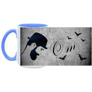 Om_ Hot Ceramic Coffee Mug : By Kyra