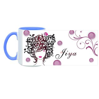 Jiya_ Hot Ceramic Coffee Mug : By Kyra
