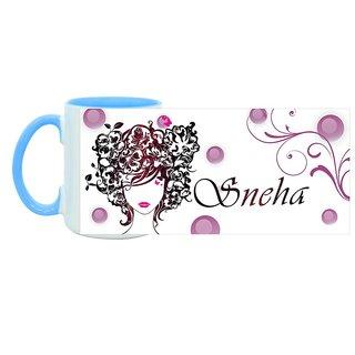 Sneha_ Hot Ceramic Coffee Mug : By Kyra