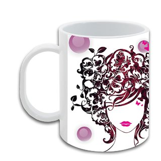Ashita_ Hot Ceramic Coffee Mug : By Kyra