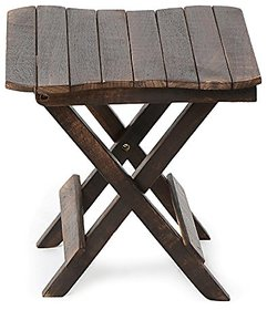 Wooden Iron Round Shaped Stool/Table Size(LxWxH-13x13x13) Inch