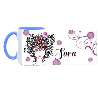 Sara_ Hot Ceramic Coffee Mug : By Kyra
