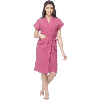 Vixenwrap Taffy Pink Solid Bath Robe