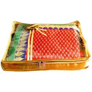 Atorakushon Pack 1 Saree Salwar Suit Cover Dress Protection Cover Garment Storage Box Bag