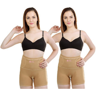 8234bf8c72 Buy Claura Cotton Lycra Tummy Tucker Shapewear Online - Get 55% Off