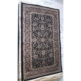 Cotton Flat weave peacock rabbit pattern carpet