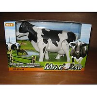Battery Operated Walking Milk Cow Toy