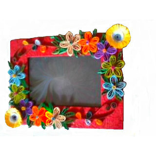 ba067923e0f5 Paper quilling photo frame at Best Prices - Shopclues Online Shopping Store